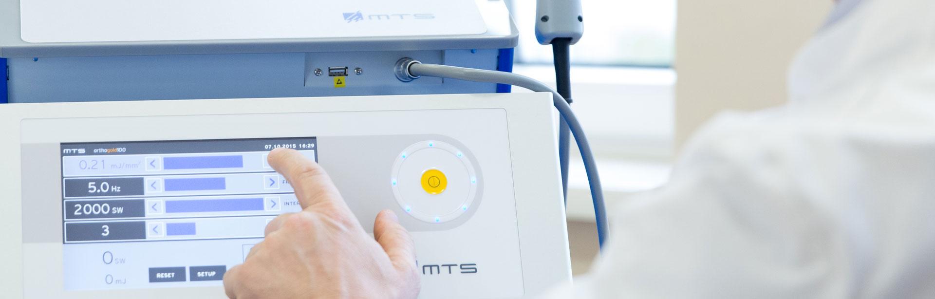 Stosswellen Therapie Linz, Institut Medaktiv