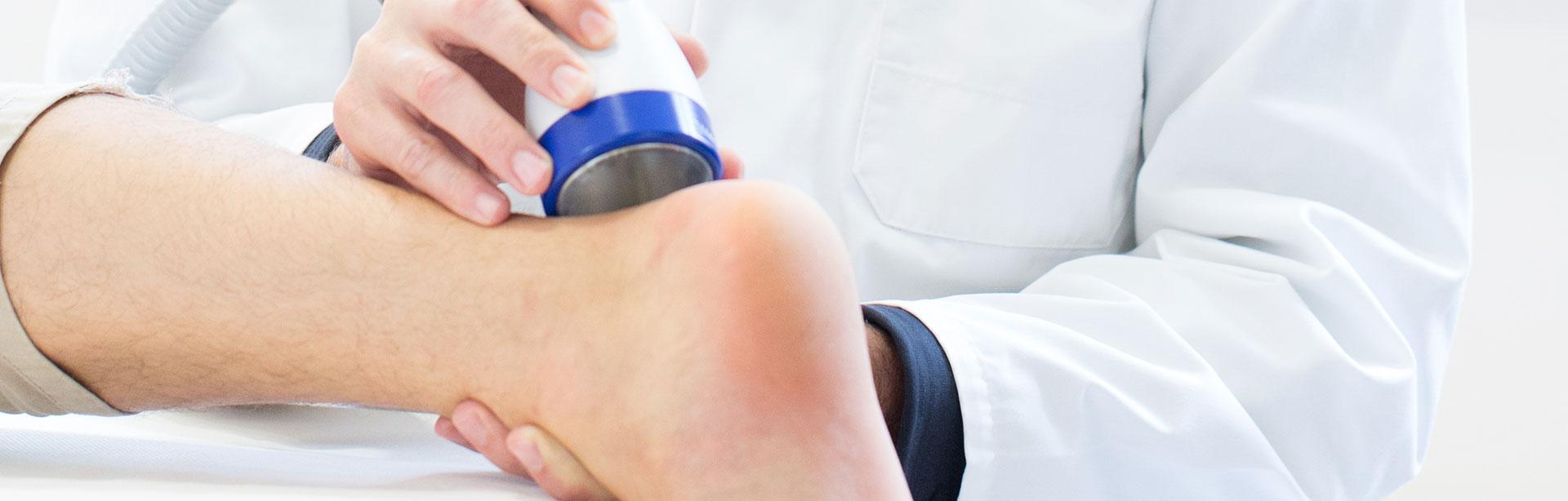 Stosswellenzentrum Linz - Behandlung von Achillessehnenentzündungen