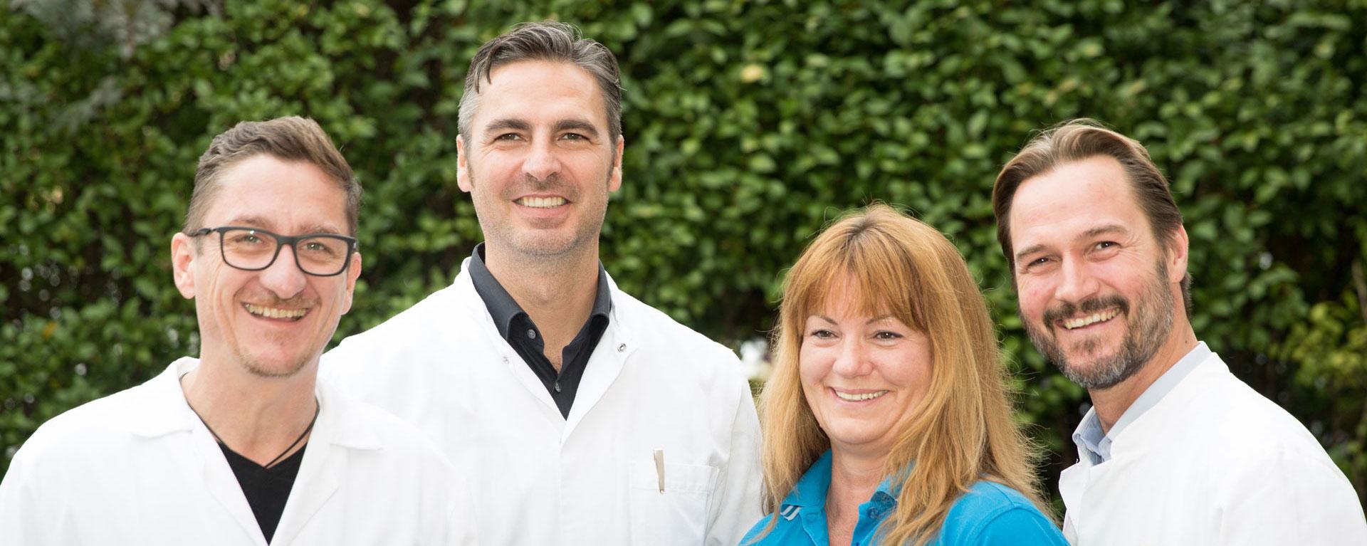 Stosswellenzentrum Linz - Team Dr. Markus Braun - Dr. Rainer Mittermayr - Anita Strempfl - Dr. Johannes Mayrhofer